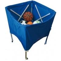 Portabalones de Baloncesto JS Carro Portabalones Aluminio Deluxe 4144
